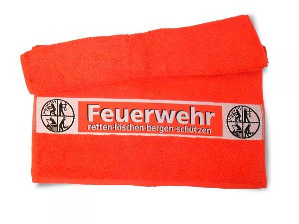 Handtuch Rot Feuerwehr 50 100