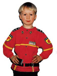 Feuerwehr Anzug für Kinder Größe 98104