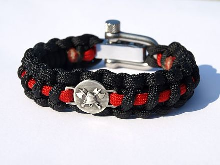 Paracord Armband Feuerwehr