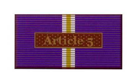 Einsatzmedaille Article 5 Eagle Assist