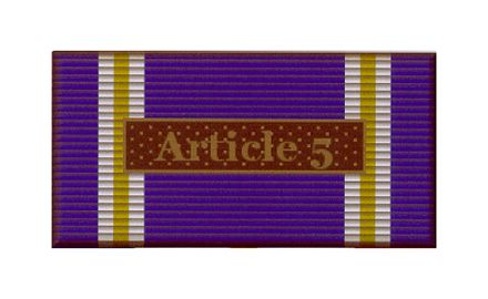 Article 5 Operation Active Endeavoer