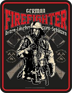 Magnet German Firefighter