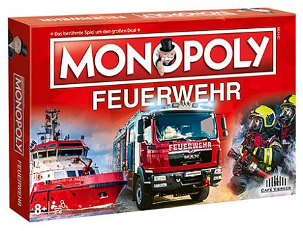 Feuerwehr Monopoly Limited Edition